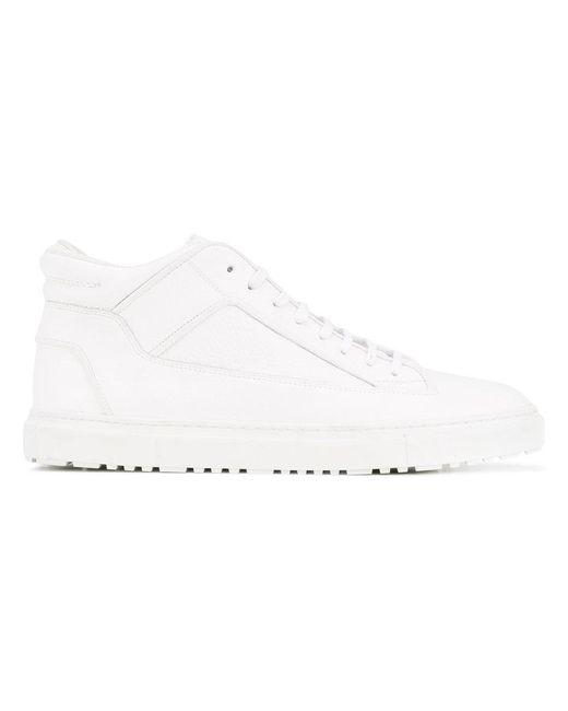 Etq - White High Top Sneakers for Men - Lyst