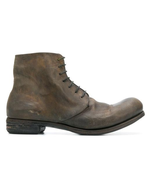 A Diciannoveventitre - Brown Dc2 Horse Oil Boots for Men - Lyst