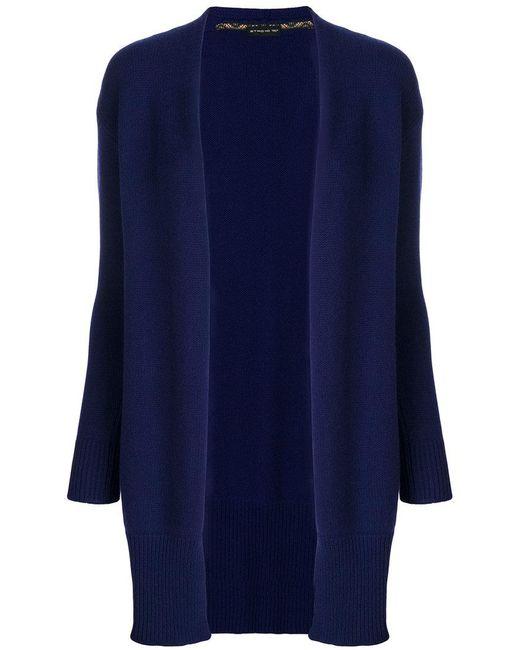 Etro | Blue Loose Fit Cardi-coat | Lyst