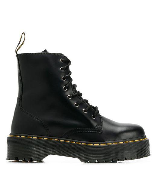 89c6798d8708 Dr. Martens - Black Jadon Boots for Men - Lyst ...