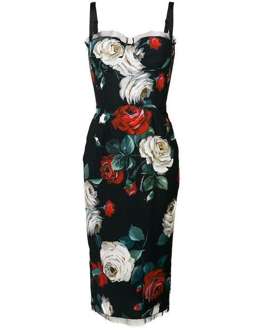Romanticist bustier cutout maxi dress
