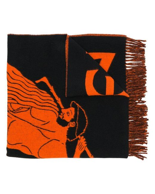 Etudes Studio - Black Magnolia Attika Scarf - Lyst