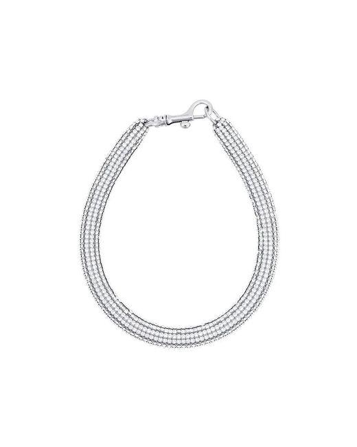 Christopher Kane | Metallic Gold Slim Bolster Necklace | Lyst