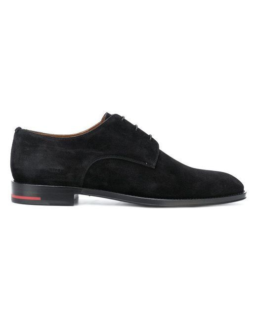 Givenchy - Black Classic Derby Shoes for Men - Lyst