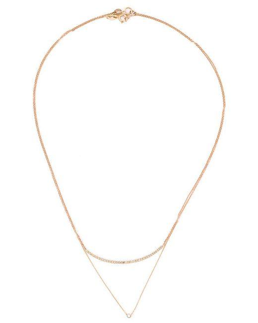 Wouters & Hendrix   Metallic Layered Diamond Necklace   Lyst