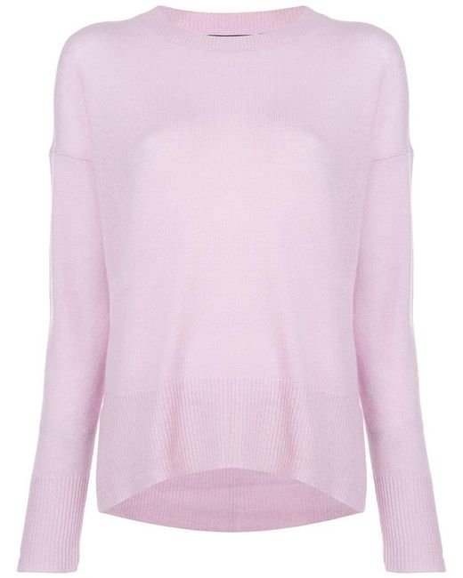 bcd9acca363 Theory - Purple Karenia Cashmere Sweater - Lyst ...