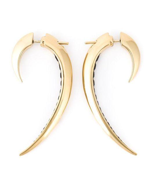 Shaun Leane - Metallic 'signature Tusk' Spinel Earrings - Lyst
