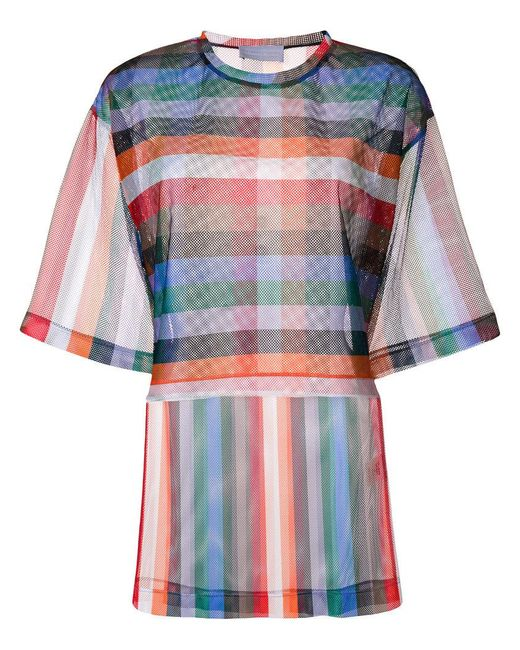Reality Studio - Multicolor Rainbow T-shirt - Lyst