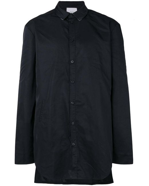 Lost and Found Rooms - Black Straight Sleeve Shirt for Men - Lyst