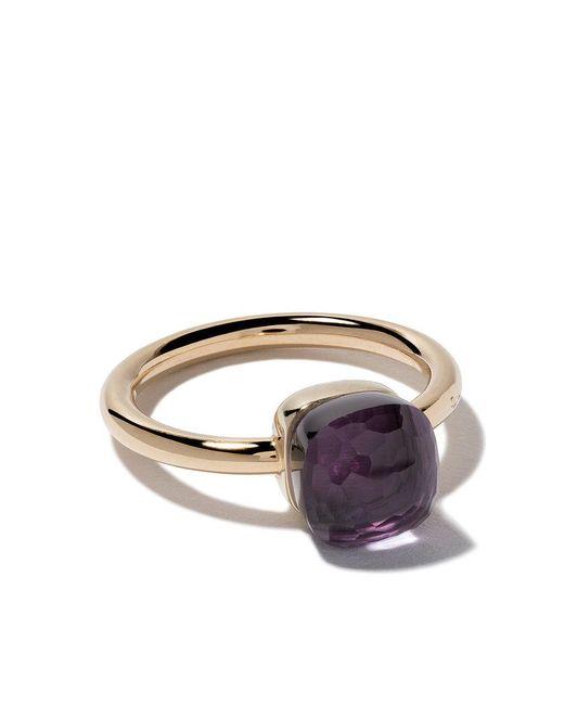 Pomellato - Multicolor 18kt Rose & White Gold Small Nudo Amethyst Ring - Lyst