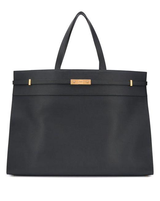 9736aa5e8c1fb Saint Laurent - Black Top Handles Tote Bag for Men - Lyst ...