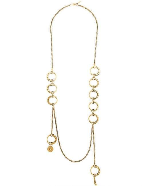Chloé - Metallic Quinn Hoop Necklace - Lyst