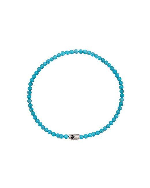 Luis Morais - Blue Mini Palm Tree Barrel Bracelet - Lyst