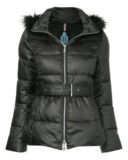Guild Prime - Black Fur Hood Trim Puffer Jacket - Lyst
