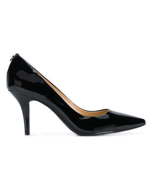 40e7e98d9532 MICHAEL Michael Kors - Black Flex Patent Leather Pumps - Lyst ...