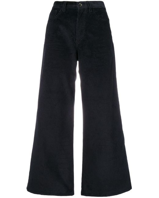 Nine:inthe:morning - Blue Wide Leg Corduroy Trousers - Lyst