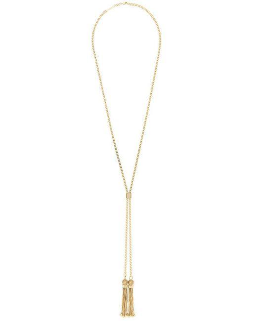 Chloé - Metallic 'lynn' Necklace - Lyst