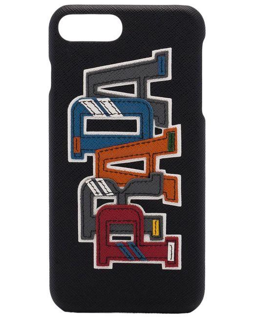 Prada - Black Iphone 7 Plus Logo Case - Lyst
