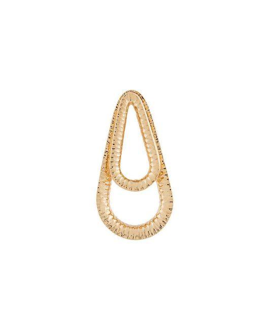 Annelise Michelson - Metallic Double-drop Earrings - Lyst