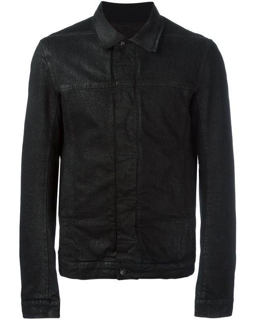 Rick Owens Drkshdw - Black 'worker' Jacket for Men - Lyst
