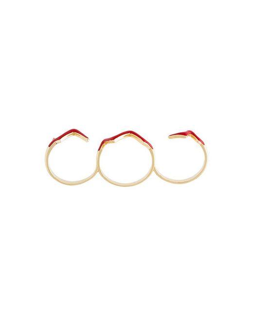 Eshvi - Red 'fetri' Branch Ring - Lyst