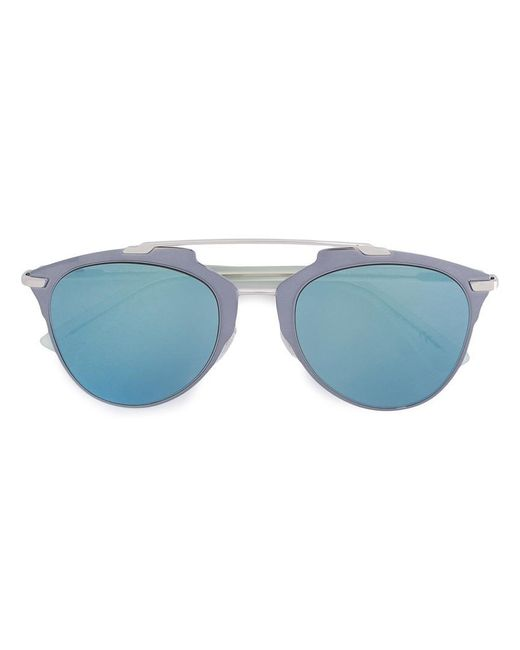 Dior - Metallic 'dior Reflected' Sunglasses - Lyst