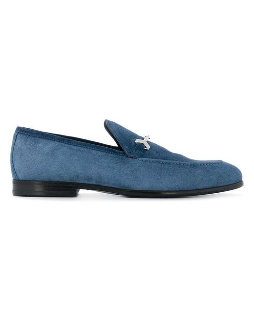 Jimmy Choo - Blue Marti Loafers for Men - Lyst