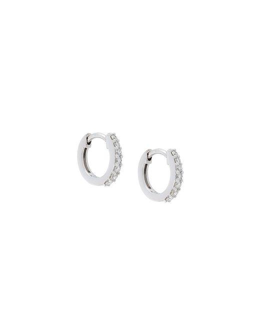 Astley Clarke | Metallic Mini Halo Diamond Hoop Earrings | Lyst