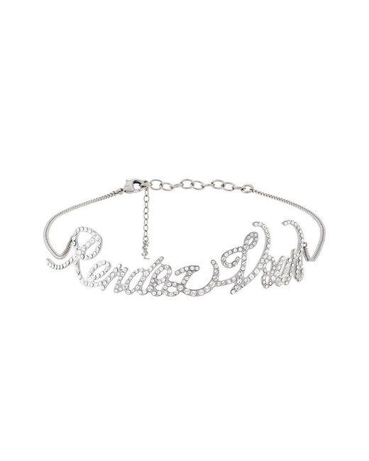Saint Laurent | Metallic Rendez-vous Choker Necklace | Lyst