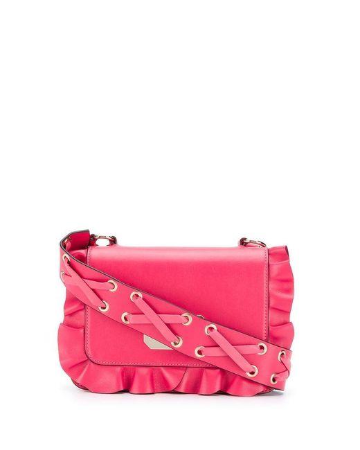 6659c97dd Bandolera Rock RED Valentino de color Rosa - Lyst