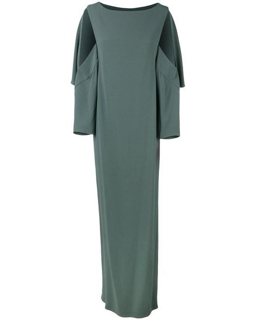 Chalayan - Green Open Sleeve Dress - Lyst