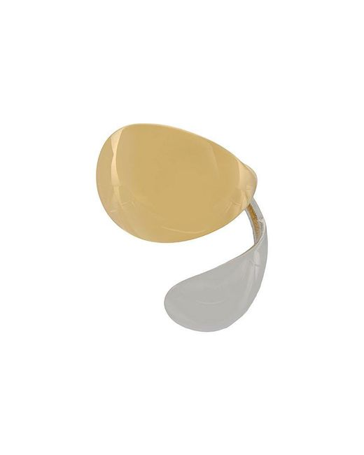 Charlotte Chesnais - Metallic Petit Petal Earring - Lyst