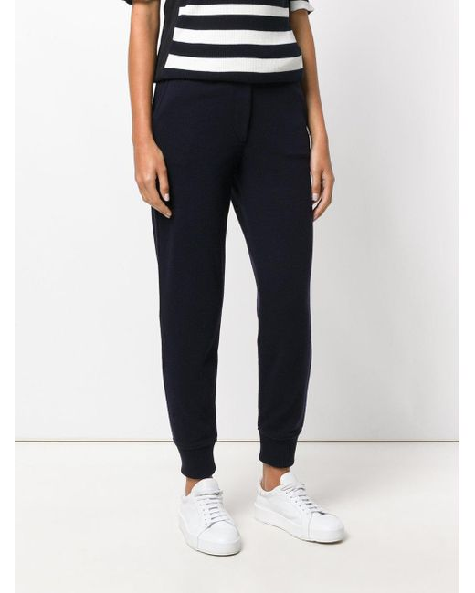 high waisted track pants - Blue JO NO FUI Official Site Sale Online Discount Clearance FgfsXvL