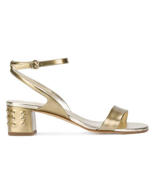 strappy sandals - Metallic Tod's Pre Order For Sale Order Nq9ly