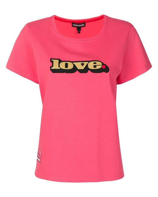 Marc Jacobs - Pink Love T-shirt - Lyst