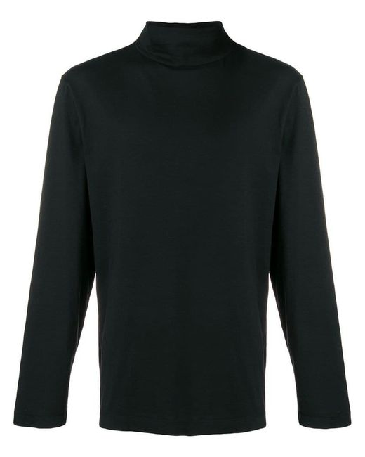 Our Legacy - Black Jersey Turtleneck Sweater for Men - Lyst