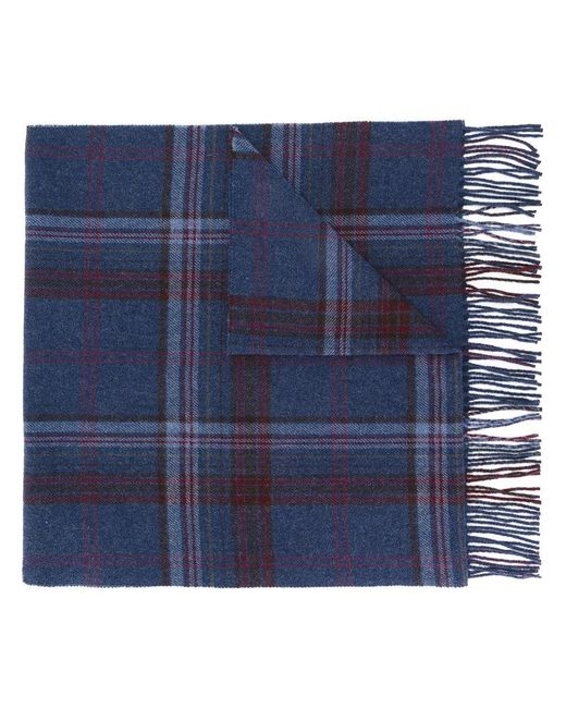 Polo Ralph Lauren | Blue Checked Scarf for Men | Lyst
