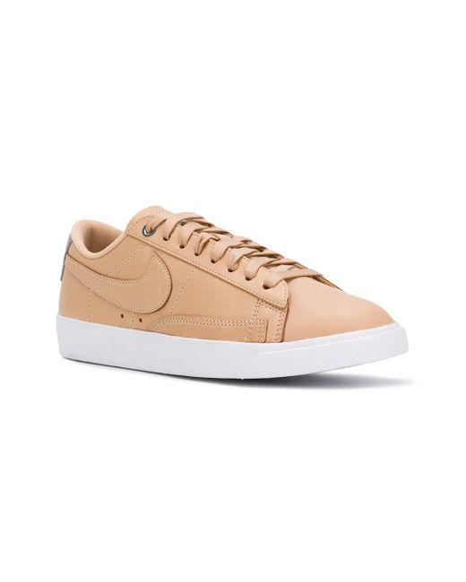 Blazer low SE premium sneakers - Nude & Neutrals Nike hlAKmQ