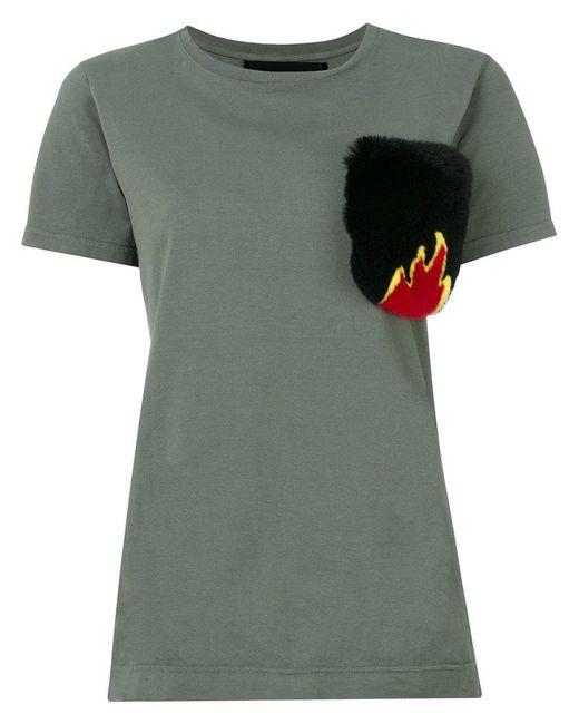 Mr & Mrs Italy - Green Pocket T-shirt - Lyst
