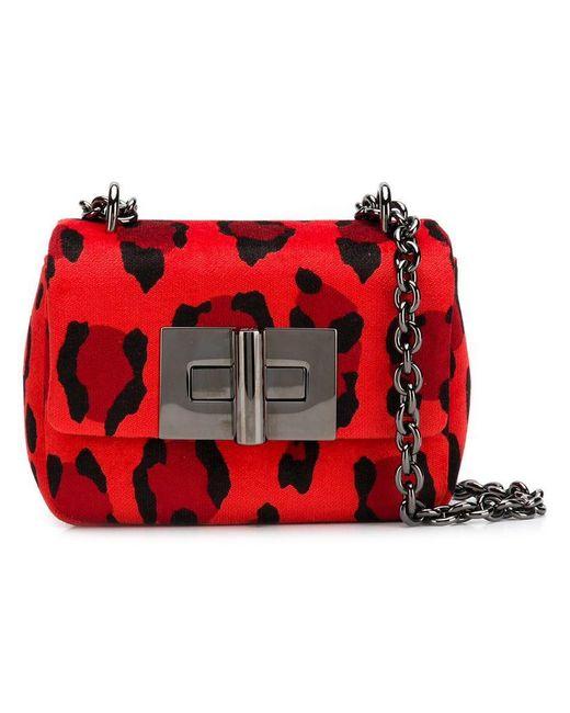 Tom Ford - Red Mini Velvet Bag - Lyst