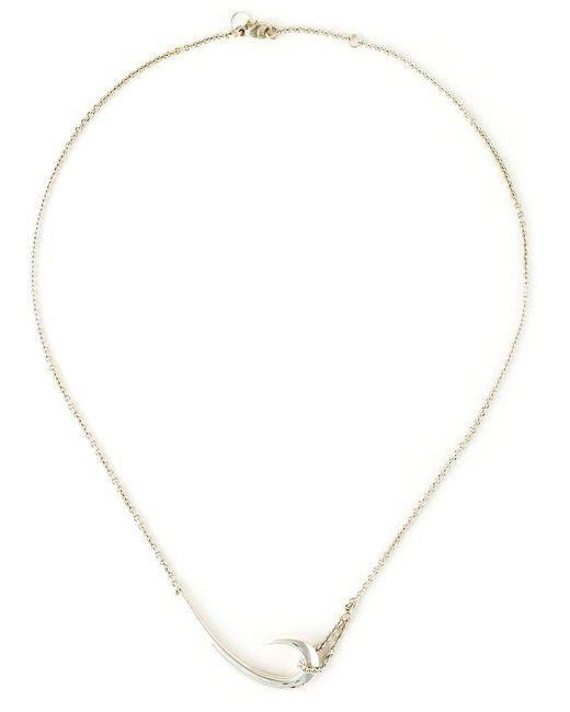 Shaun Leane | Metallic 'hook' Necklace | Lyst