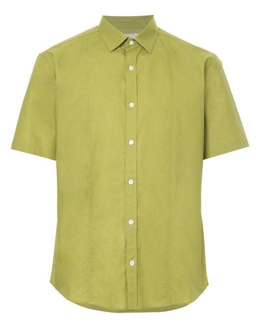 Cerruti 1881 - Green Short Sleeve Shirt for Men - Lyst