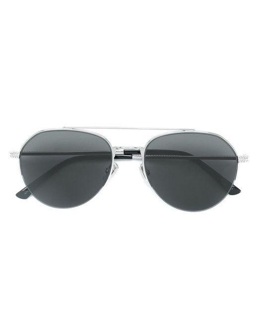 Jimmy Choo - Black Tinted Aviator Sunglasses for Men - Lyst