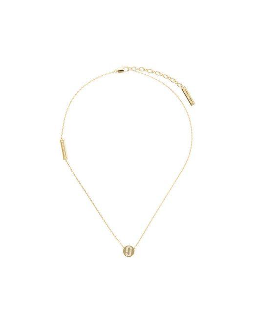 Marc Jacobs - Metallic Disc Pendant Necklace - Lyst