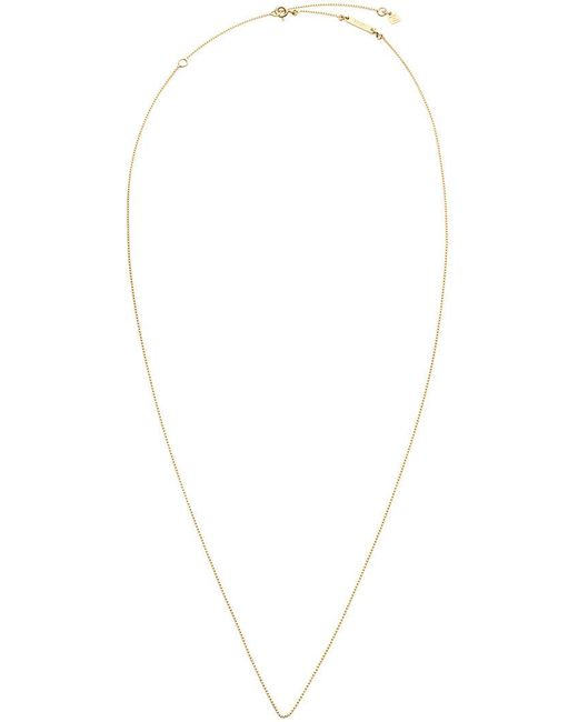 Fendi - Metallic Abclick Long Necklace - Lyst