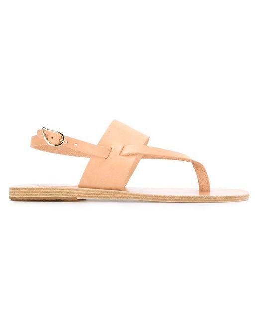 Ancient Greek Sandals - Natural - 'zoe' Sandals - Women - Leather/bos Taurus - 37 - Lyst