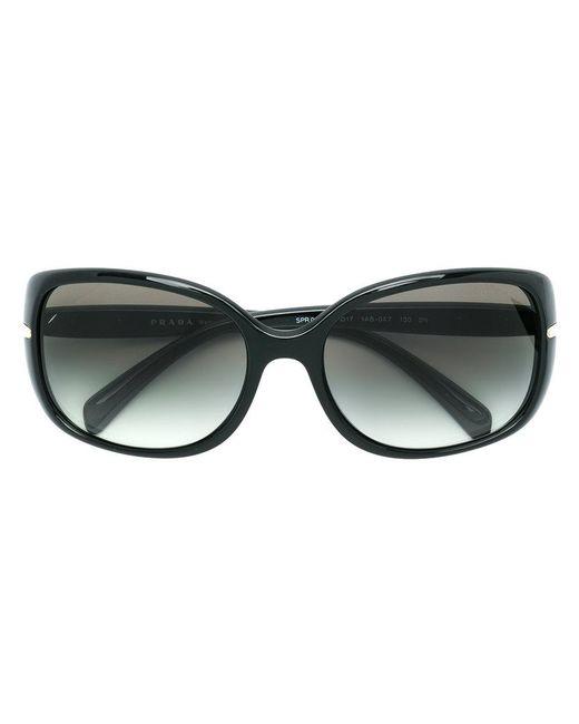 c57076e0e5 Gafas de sol oversize Prada de color Negro - Lyst