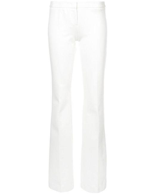 Derek Lam - White Flared Trousers - Lyst