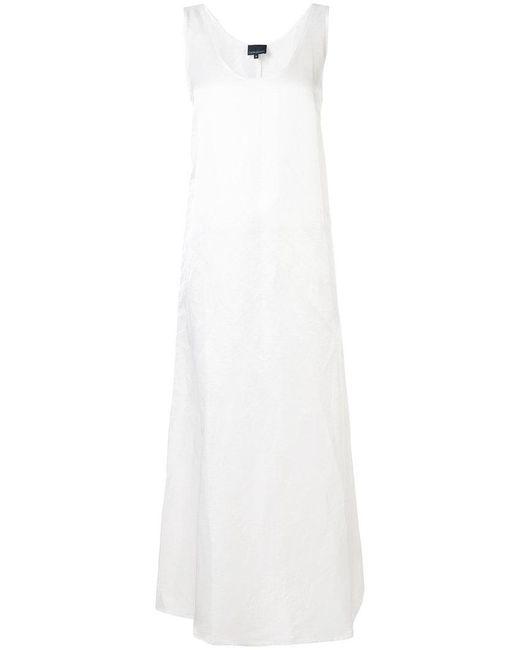 Cynthia Rowley - White Side Slit Classic Shift Dress - Lyst