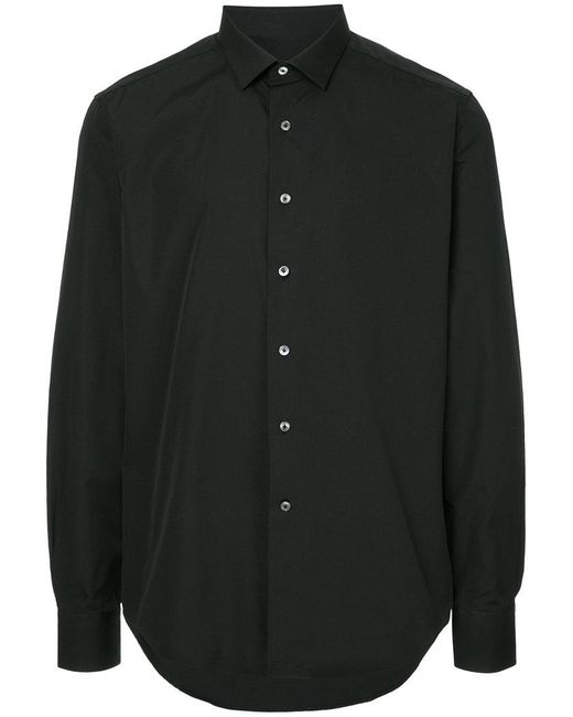 Lanvin - Black Slim-fit Shirt for Men - Lyst